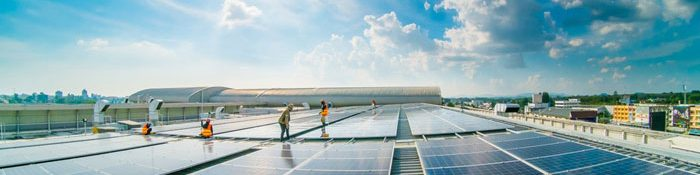 Panes Solares para Empresas Industriales en estacionamientos solares solarfy