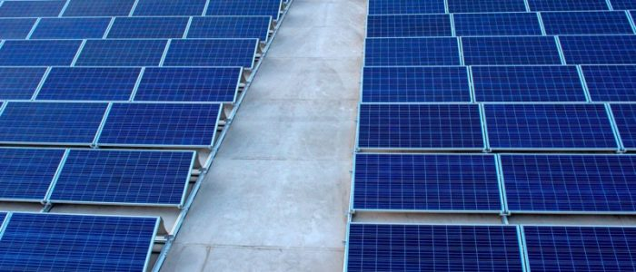 techo con paneles solares en aguascalientes