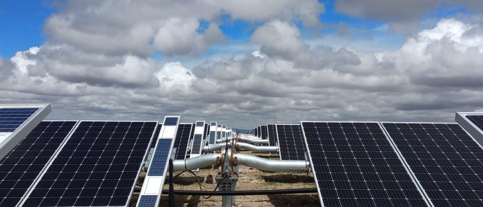 granja solar aguascalientes con trackers
