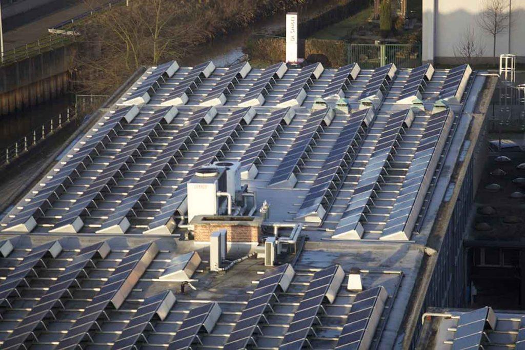 generación distribuida con paneles solares