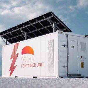 Baterias cargando con paneles solares